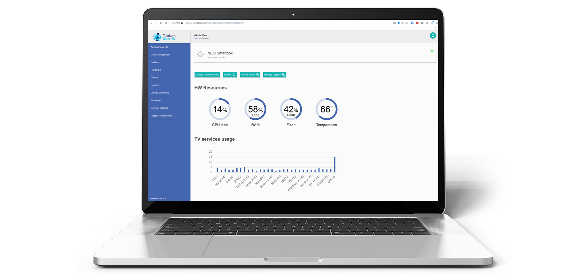oblo remote configuration and monitoring dashboard application iot smart